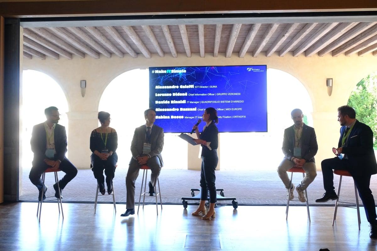 I relatori di MakeITSimple parlano di Digital Transformation