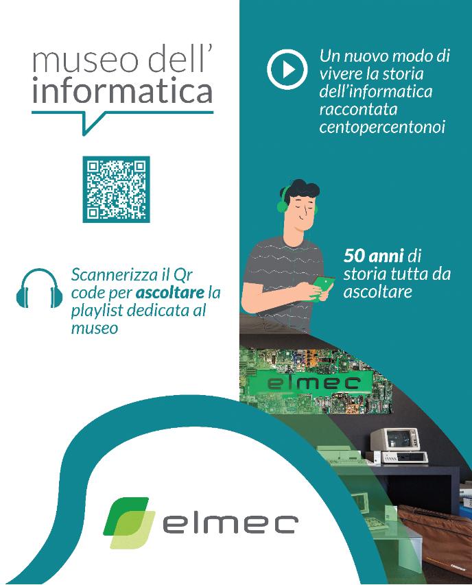 Playlist degli audioracconti del museo dellinformatica di Elmec Informatica