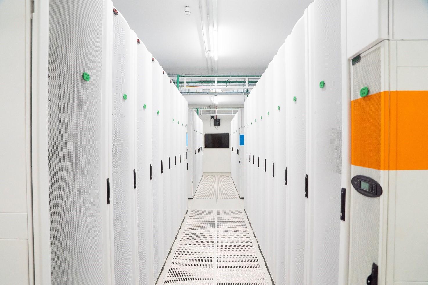 Green Data Center - White Room