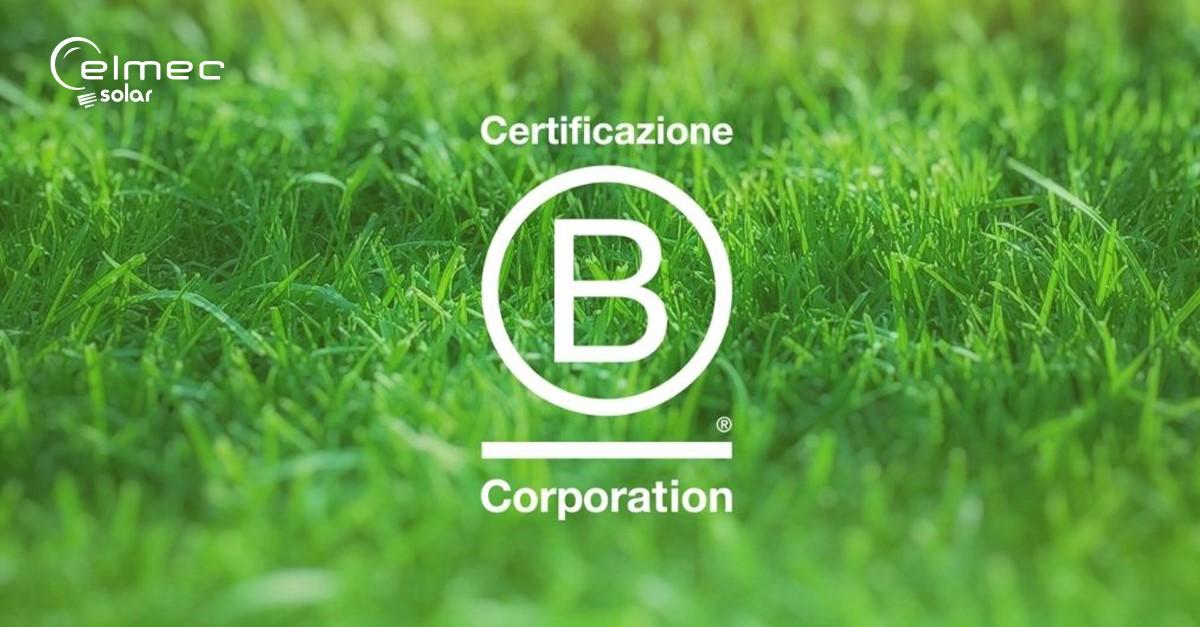 Elmec Solar ha ottenuto la certificazione B-Corp!