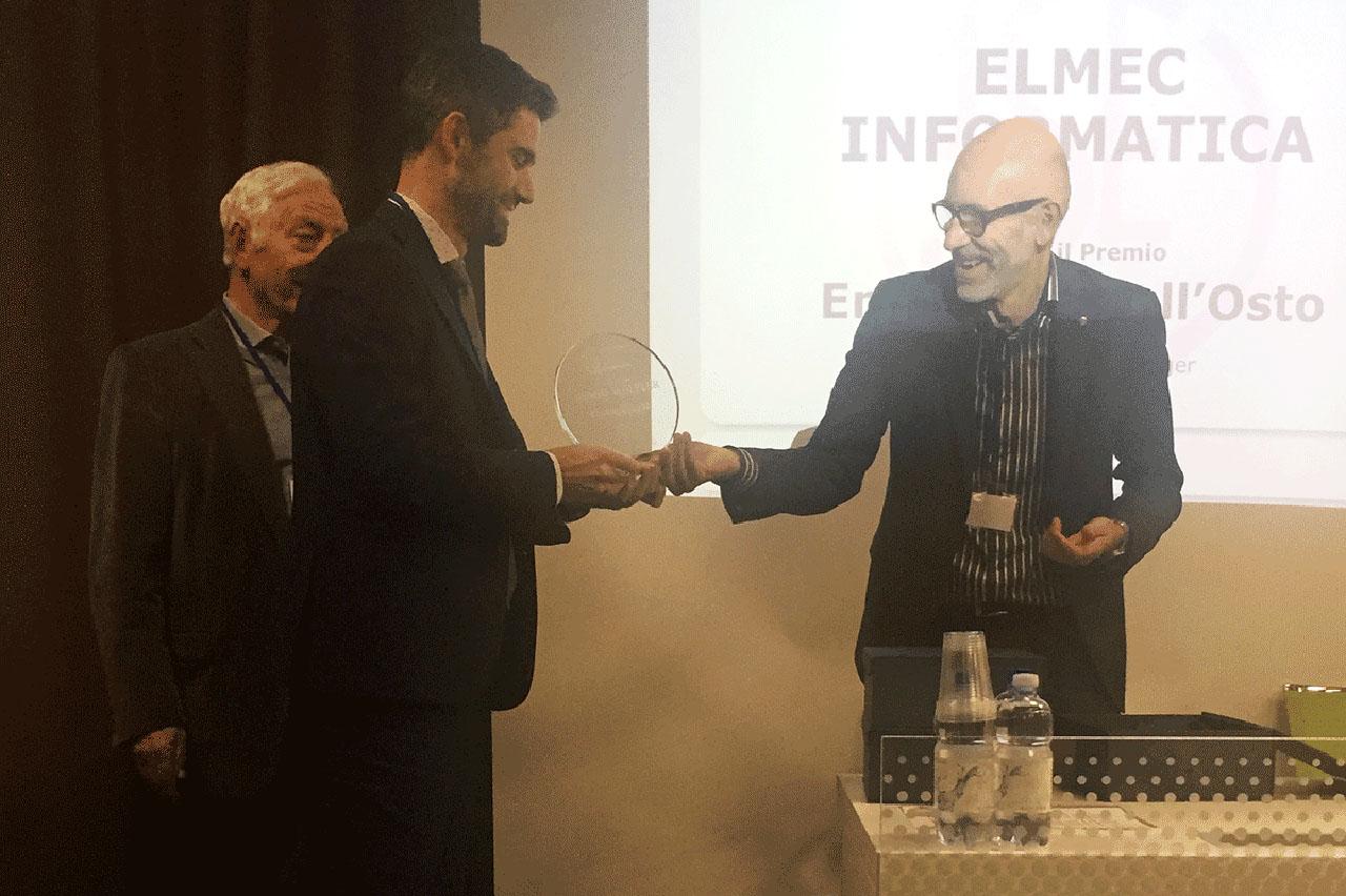 Elmec riceve il premio Wolfler