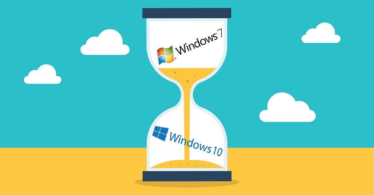 Aggiornamenti Windows 7 addio! Da oggi termina il supporto