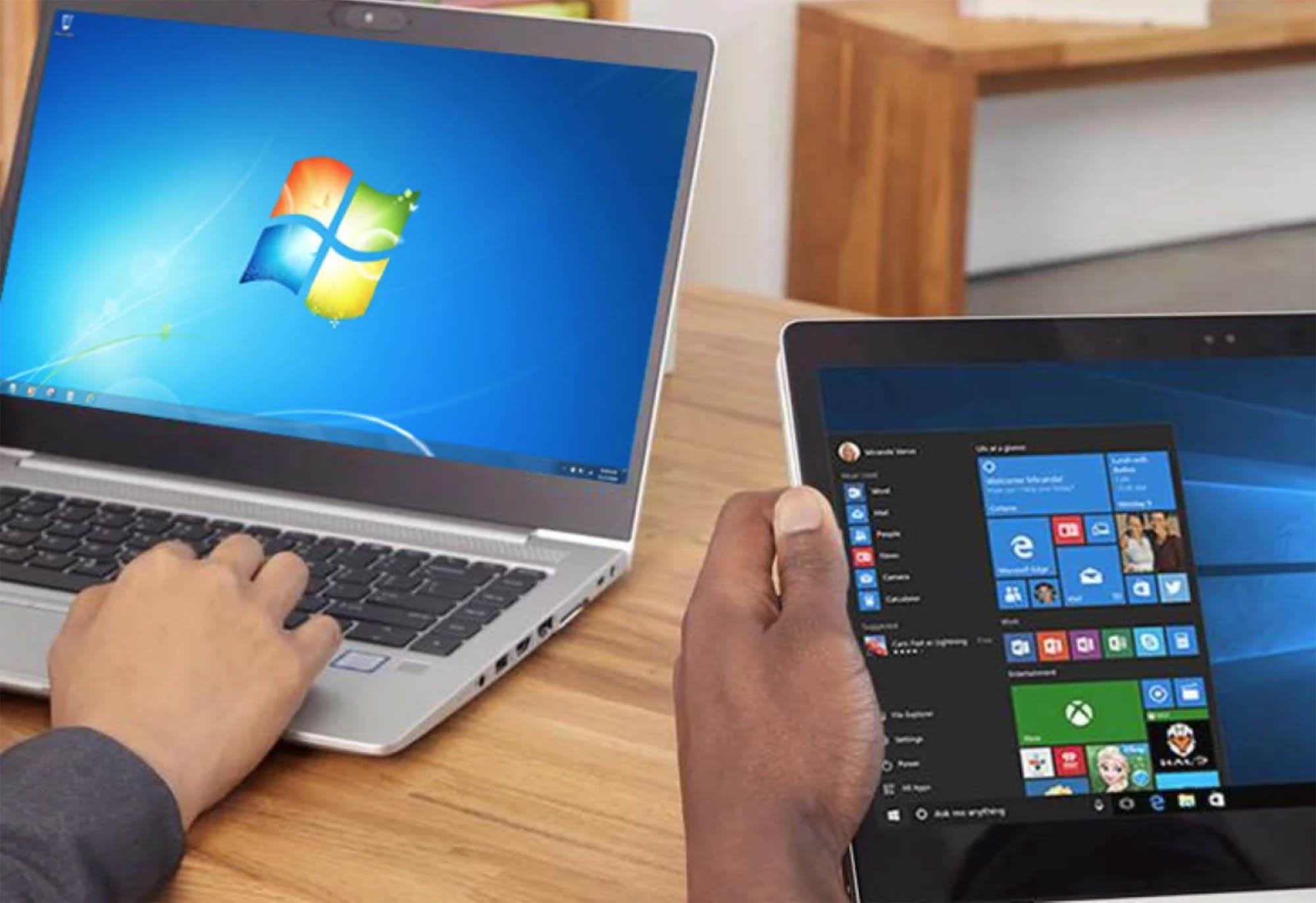 Windows 7 fine supporto e migrazione a Windows 10: perché è il momento giusto e quali sono gli errori da evitare